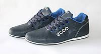 Мужские кожаные кроссовки ECCO-лето