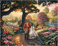 Картина по номерам на холсте Babylon Унесенные ветром