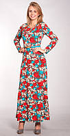 Платье женское цветное макси р.42-44-46-48 V164