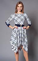 Платье женское в клетку р. 44-46-48 V184