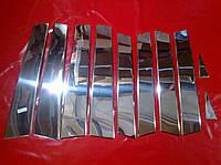 Хром накладки на стойки AUDI Q7