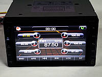 Магнитола Pioneer PI-713 2din GPS цветная камера и TV антенна