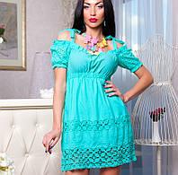 Натуральное платье | Миледи на завязках