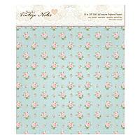 Бумага тканевая самоклеющая 30,5*30,5 Docrafts PMA 181203