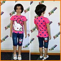 Комплект для девочки - летний, очень стильно, модно и красиво - Hello Kitty