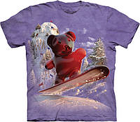 3D футболка The Mountain - Snowboard Bear