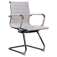 Кресло для руководителя Слим CF кожзам PU беж