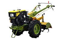 Мотоблок дизельный Добрыня МТ-81(8,8 л.с+фреза и плуг)