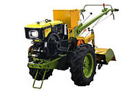 Мотоблок дизельный Добрыня МТ-81Е(8,8 л.с, электростартер+фреза и плуг)