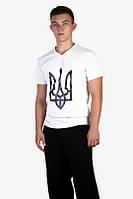 Патриотическая мужская футболка Герб