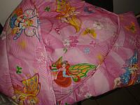 Детское одеяло Винкс синтепоновое  205х140  Украина WINX