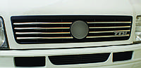 Накладки на решетку радиатора Volkswagen LT 1998+ нержавейка
