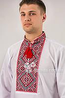 Вышиванка мужская Федор красная