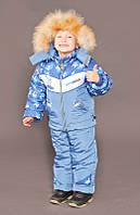 """Верхняя одежда, детская зимняя, комбинезон/комплект для мальчика с отстегивающимся капюшоном """"Сноуборд"""""""