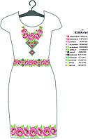 Заготовка для вышивки бисером платья ЮМА ПЛ 7