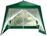 Садовый павильон-шатер Under Price S 3301-2.4 с москитной сеткой и молниями (2,4x2,4/3х3м)