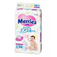 Подгузники японские Merries (Мерриес) L (9-14кг) 54шт. Памперсы.