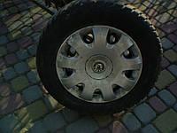 Комплект Резина зимняя M+S 195\65\R15 диски R 15\5*112 колпаки Skoda R 15