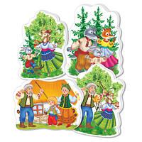 Baby Puzzle «Сказки. Коза-дереза» VT1106-38 Vladi Toys
