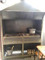 Мангал стационарный для кафе/ресторана (MD-MKK-01)
