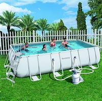 Прямоугольный каркасный бассейн, размером 671х366х132 см