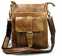 Кожаная сумка. Офисная сумка. Стильная сумка. Сумки для мужчин. Код: КСД14-1.