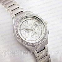 Часы женские серебро. Alberto Kavalli. Модные часы. Красивые часы. Наручные часы в подарочной коробке.
