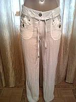 Женские молодежные летние брюки жатка