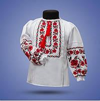 """Рубашка - вышиванка """"Ожерелье 2"""" для девочки от 2 до 12 лет"""