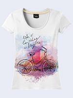 Женская футболка BICYCLE