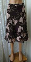 Юбка женская легкая миди бренд H&M р.42-44