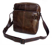 Стильная мужская сумка. Офисная сумка. Сумка из кожи. Удобная сумка. Код: КСД17.