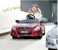 Детский электромобиль Mercedes-Benz Kids Electric Car SLS AMG Le Mans Red