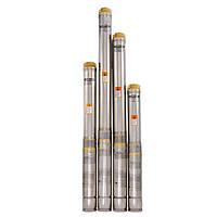 Центробежный насос для скважин и колодцев Sprut 100QJ 214-1.1 нерж. + пульт