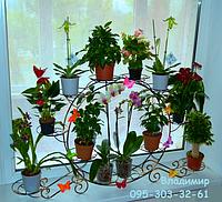 "Подставка для цветов ""Колесо на 12 чаш"""