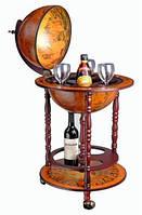 Глобус бар для напитков напольный 33001
