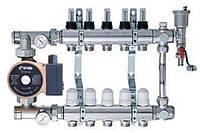 Коллекторная система с насосом на П'ять выходов ECO 001