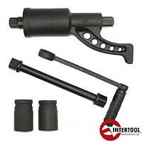 Ключ баллоный роторный на подшипнике для грузовых автомобилей Intertool XT-0002