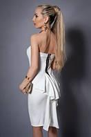 Шикарное  молодежное платье стильного кроя от производителя