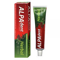 АЛПА-дент Гербал зубная паста с микрогранулами Alpa