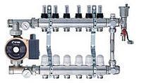 Коллекторная система с насосом на Шесть выходов ECO 001