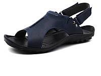 Сандалии кожаные мужские GS-комфорт, синие, размеры 40, фото 1