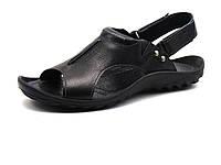 Сандалии мужские кожаные GS-комфорт, черные, фото 1