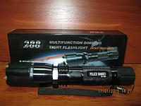 Светодиодный фонарь. Электрошокер Сокол BL-288 Police шокер+лазер+фонарик