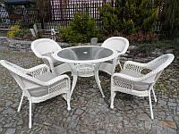 Комплект садових меблів. ADA MINI DE LUX. Стіл + 4 крісла