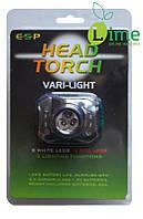 Фонарик налобный Head Torch ESP Vari Light