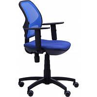 Кресло компьютерное Квант/Action сиденье Квадро-20/спинка Сетка синяя