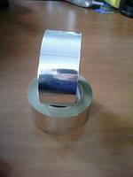 Скотч алюминиевый армированный пленкой 75мм*50м
