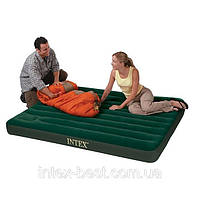 Двуспальный надувной матрас Intex 66928 (137х191х22 см.) с насосом
