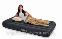 Полуторный надувной матрас Intex 66768 (137x191x30 см.)